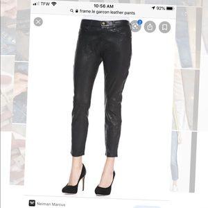 Frame Garcon genuine Leather pants 25